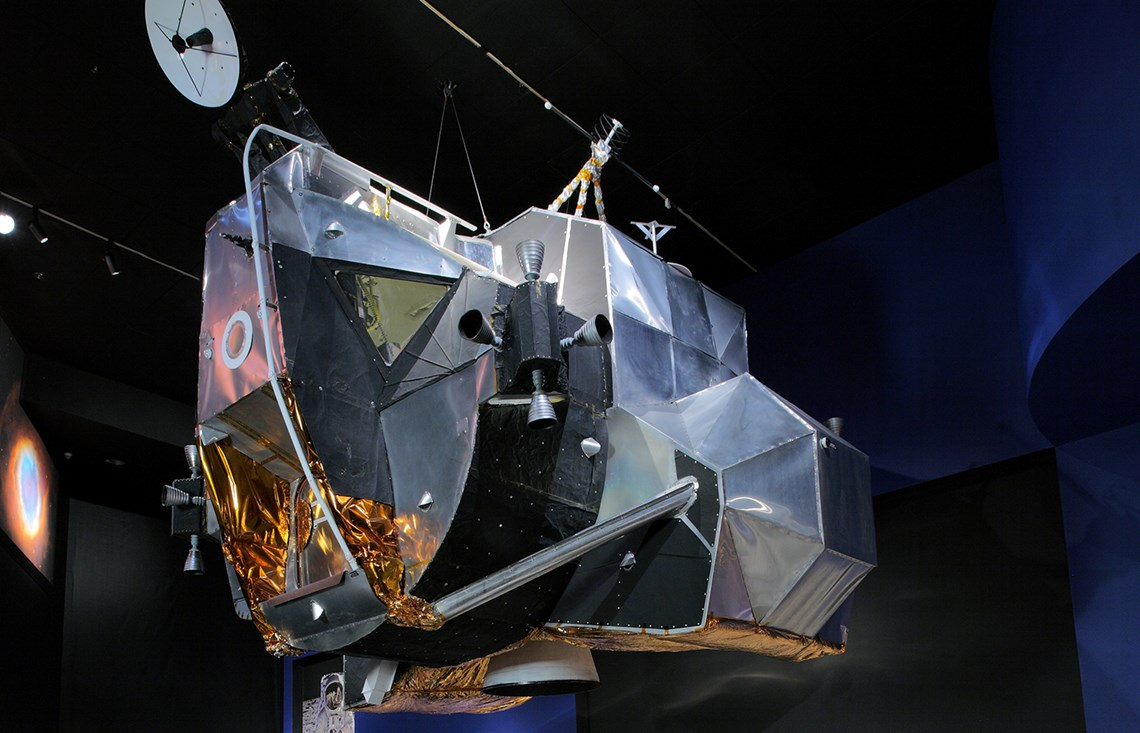 The Museum's Apollo 17 Lunar Module Mock-Up