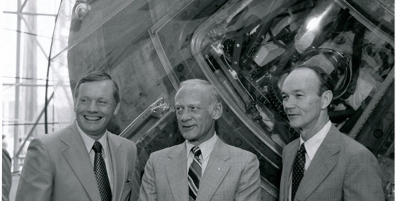Armstrong, Aldrin, Collins