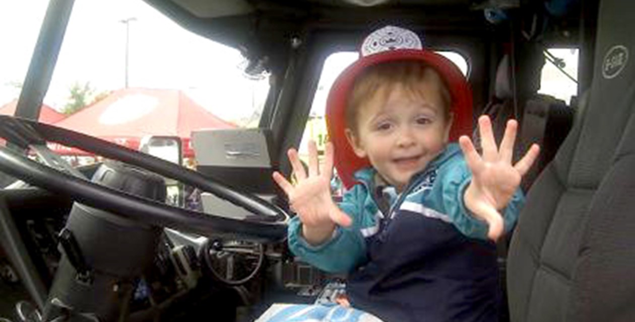 Young Fire Fighter