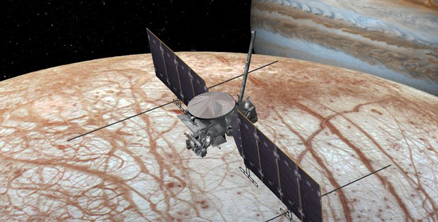 Europa Encounter | Image: NASA