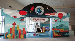 Flight Zone - Title