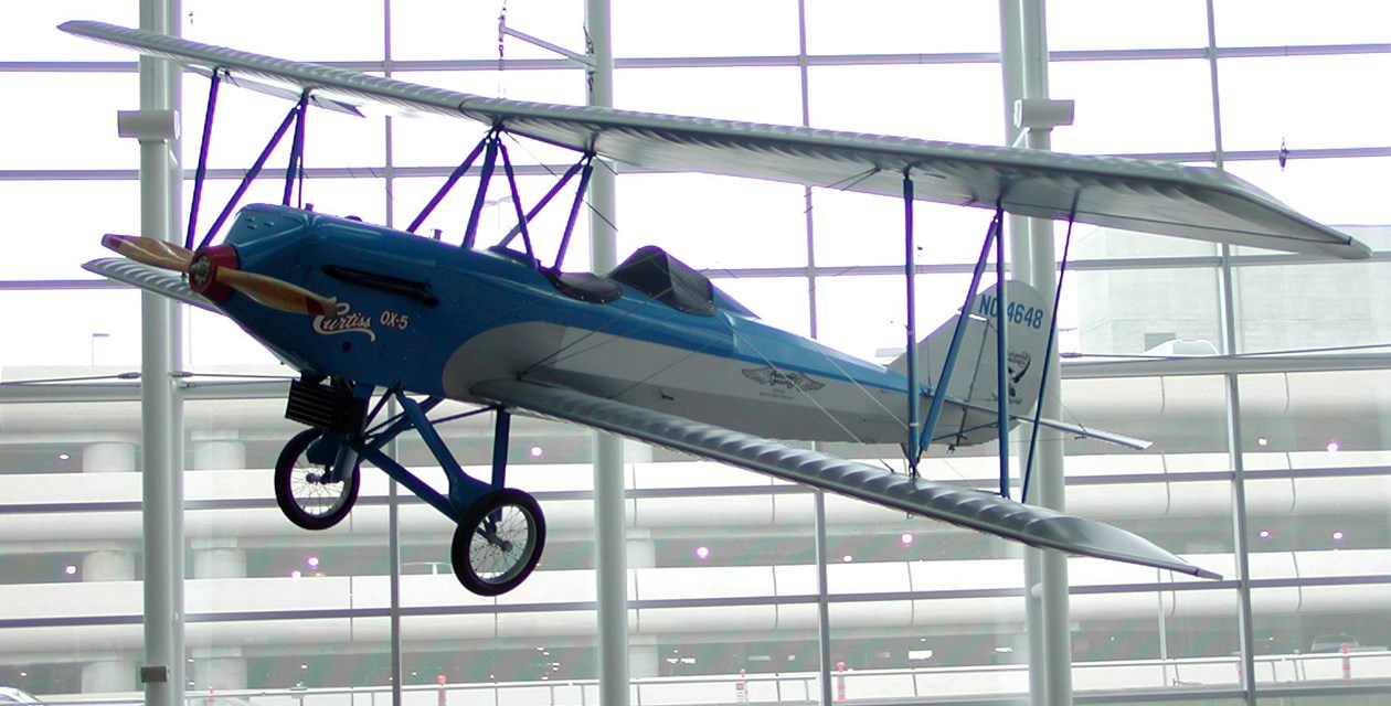 The Museum's Alexander Eaglerock on display at Seattle-Tacoma International Airport