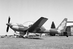 A Lockheed YO-3A taken at Arlington, WA in 1980