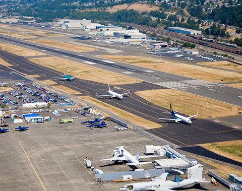 Boeing Field Tours