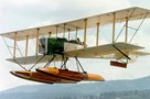 The Museum's Boeing B&W Replica in Flight