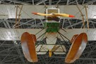 The Museum's Boeing B&W Replica on display in the Great Gallery (Photo by Heath Moffatt)