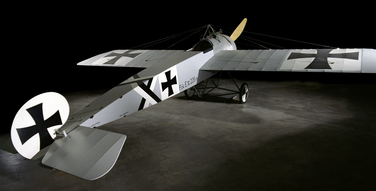 The Museum's Fokker E.III Reproduction (Photo by Heath Moffatt)