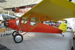 The Museum's Curtiss-Robertson Robin C-1 on display in the Great Gallery
