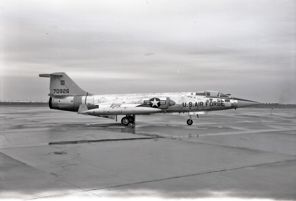 A Lockheed F-104C Starfighter, assigned to the 479th Tactical Fighter Wing.