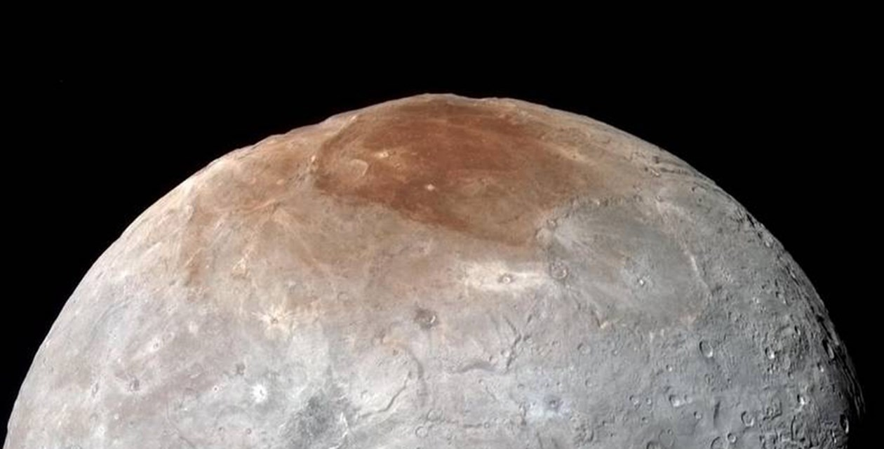 One of Pluto's moons, Charon