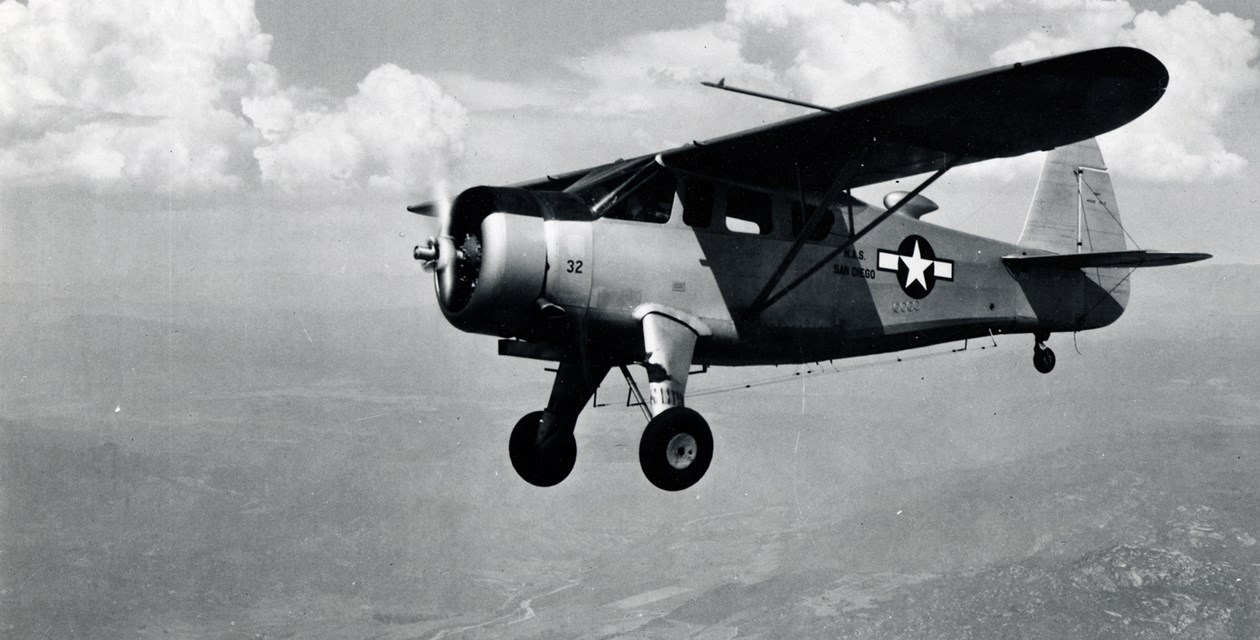 A Howard DGA-15P in flight
