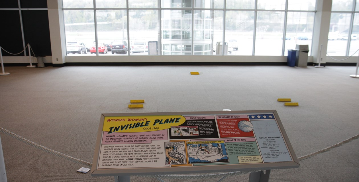 The Invisible Plan on display at The Museum of Flight
