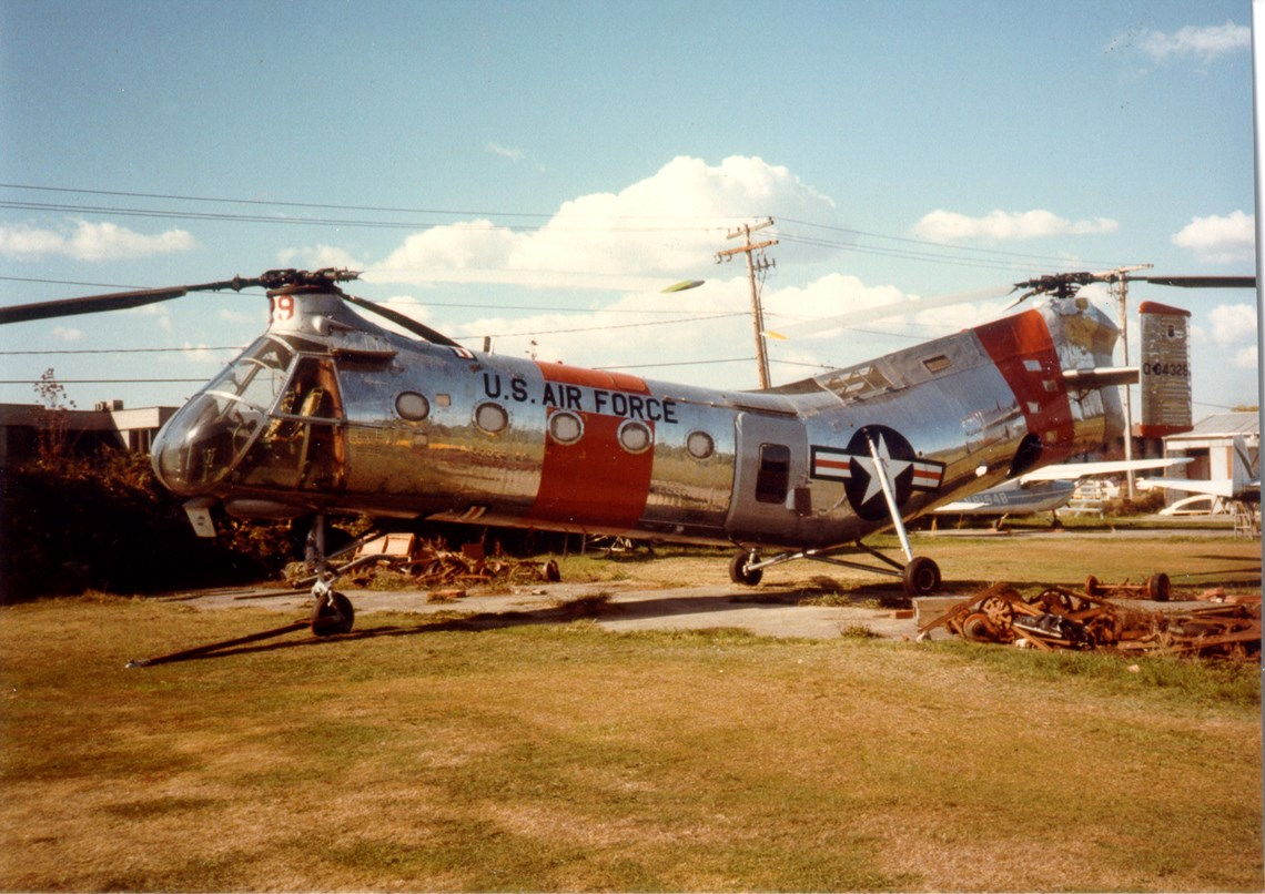 The Museum's Piasecki H-21B (CH-21B) Workhorse