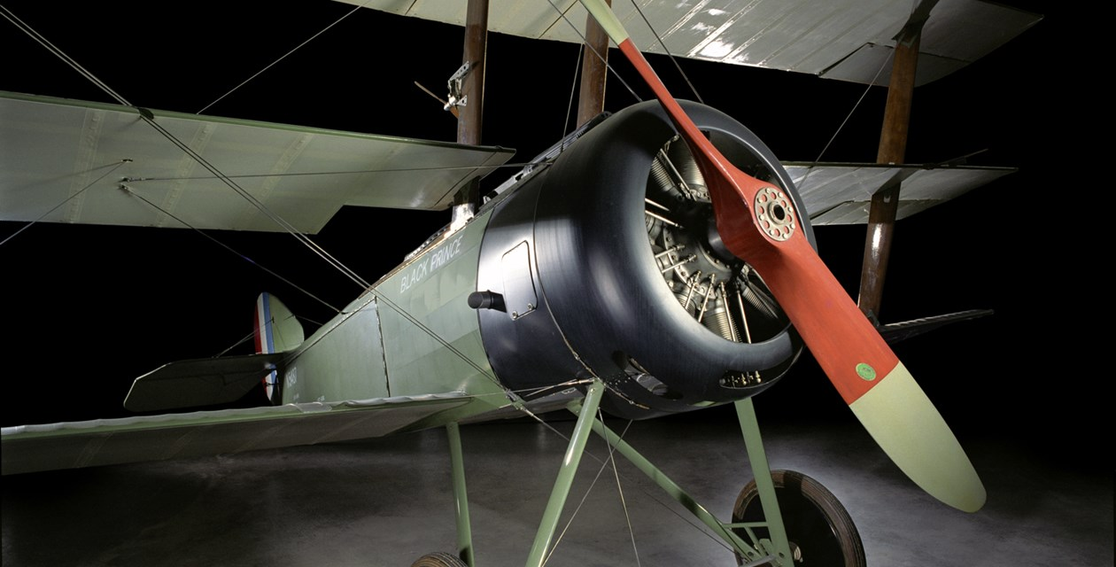 The Museum's Sopwith Triplane Reproduction (Photo by Heath Moffatt)