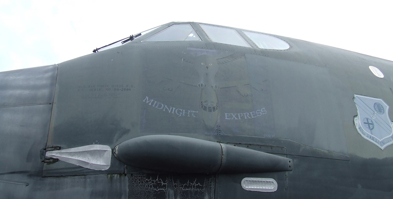 The Museum's Boeing B-52G Stratofortress