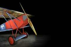 The Museum's Fokker D.VII Reproduction (Photo by Heath Moffatt)