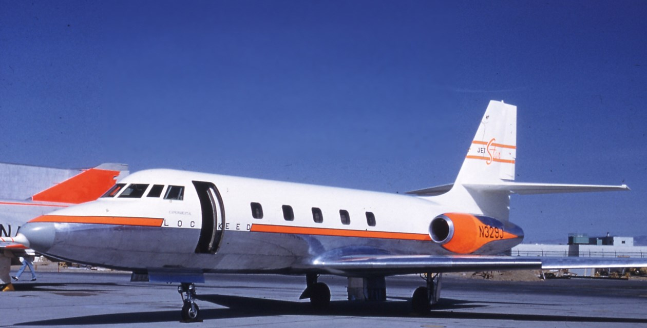 The Museum's Lockheed Jetstar CL-329