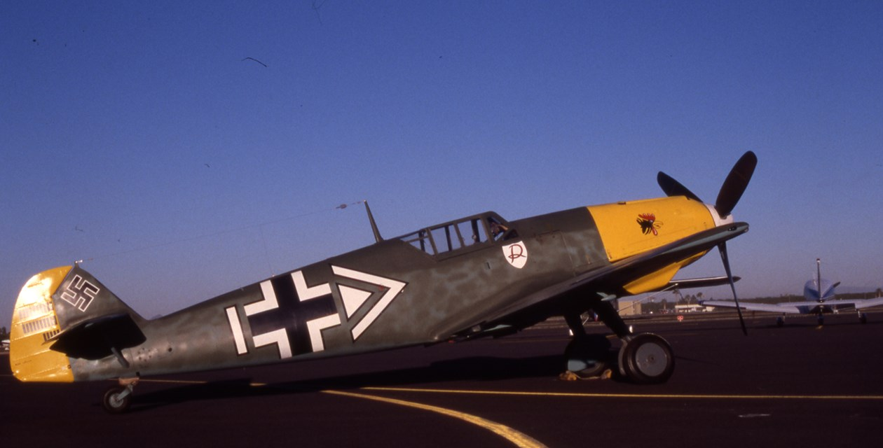 The Museum's Messerschmitt BF 109E-3