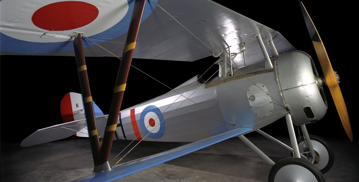 The Museum's Nieuport 27 Reproduction (Photo by Heath Moffatt)