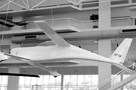 The Museum's Rutan Model 54 Quickie formerly on display in the Great Gallery