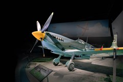 The Museum's Supermarine Spitfire Mk.IX (Photo by Heath Moffatt)