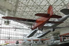 The Museum's Stinson SR Reliant on display in the Great Gallery