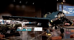 FM-2 Wildcat on display in the Personal Courage Wing