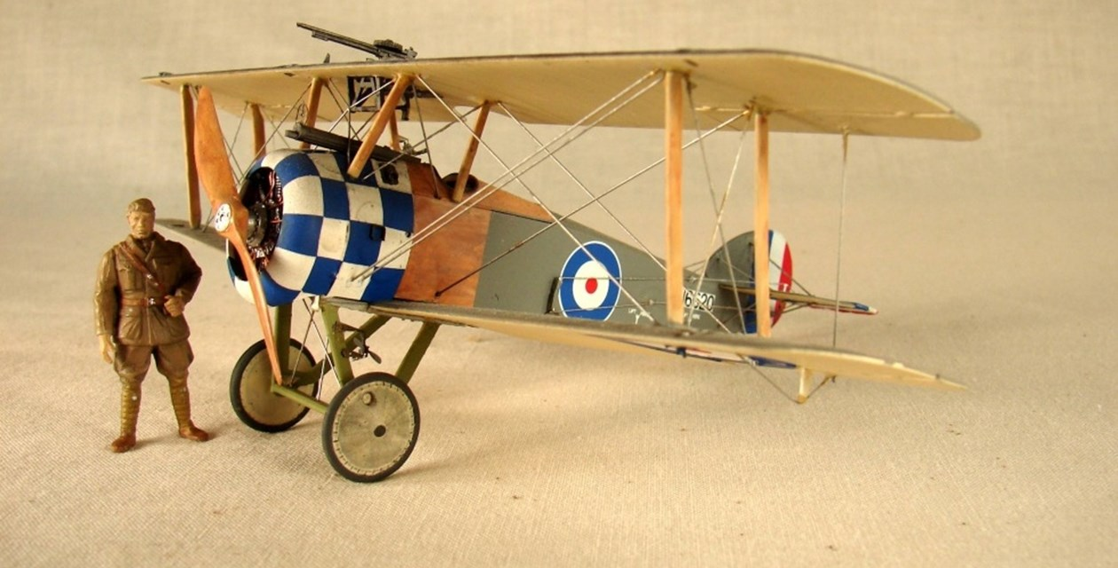 Sopwith Camel 2.F.1 Ship Camel (1/48 Scale Model)