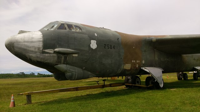 B-52 Restoration Progress