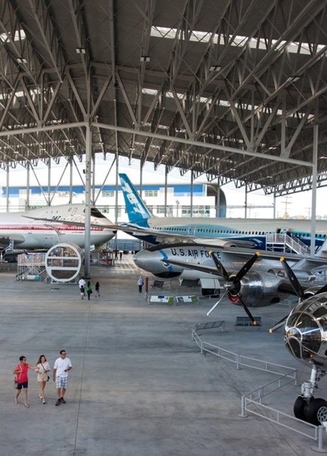 Now Open: The Aviation Pavilion