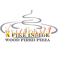 A Fire Inside Wood Fired Pizza