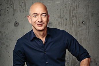 Jeff Bezos, Found and CEO of Amazon.com, founder of Blue Origin and Bezos Expeditions. Photo courtesy Amazon.com