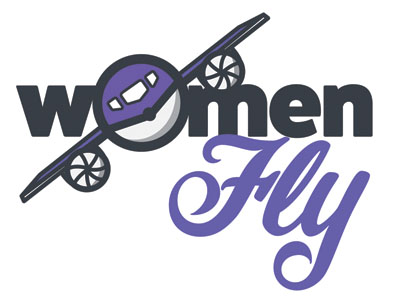 Women Fly Logo
